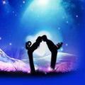 浪漫星空情侣唯美头像图片3