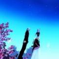 浪漫星空情侣唯美头像图片37