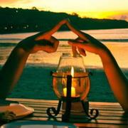情侣烛光晚餐头像图片1