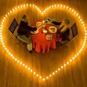 情侣烛光晚餐头像图片2