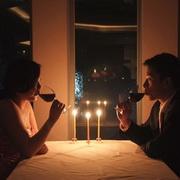 情侣烛光晚餐头像图片22