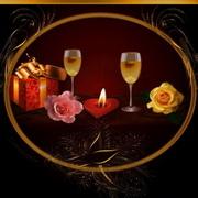 情侣烛光晚餐头像图片5
