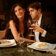情侣烛光晚餐头像图片6