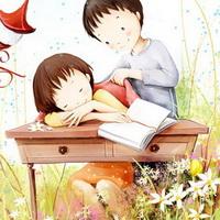 韩国风情情侣韩国唯美小孩儿头像图片20