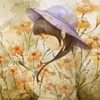 春暖花开唯美头像图片16