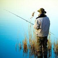 唯美钓鱼湖边头像图片28