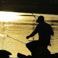 唯美钓鱼湖边头像图片29
