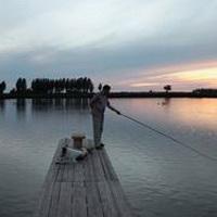 唯美钓鱼湖边头像图片32
