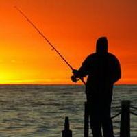 唯美钓鱼湖边头像图片7