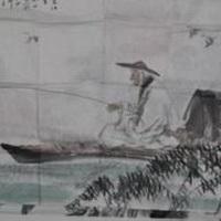 唯美钓鱼湖边头像图片8