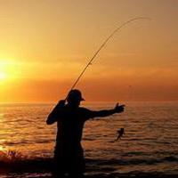 唯美钓鱼湖边头像图片9