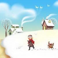 冬天唯美风景雪花头像图片16