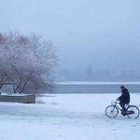 冬天唯美风景雪花头像图片18