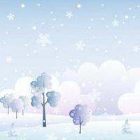 冬天唯美风景雪花头像图片22