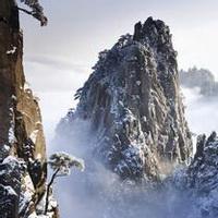 冬天唯美风景雪花头像图片23