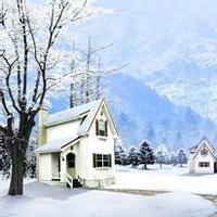 冬天唯美风景雪花头像图片26