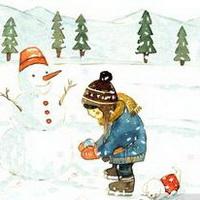 冬天唯美风景雪花头像图片27