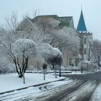 冬天唯美风景雪花头像图片28