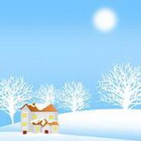 冬天唯美风景雪花头像图片32