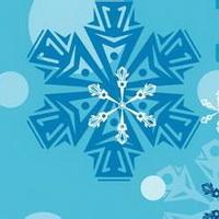 冬天唯美风景雪花头像图片35