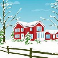 冬天唯美风景雪花头像图片38