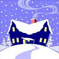 冬天唯美风景雪花头像图片5