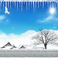 冬天唯美风景雪花头像图片8