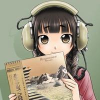 小清新妹子耳机控