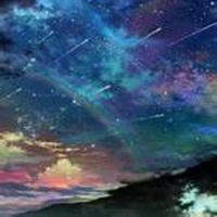 唯美星空夜空头像图片12