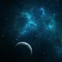 唯美星空夜空头像图片17
