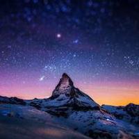唯美星空夜空头像图片21