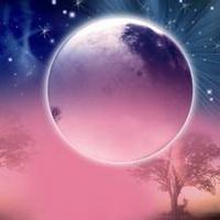 唯美星空夜空头像图片22