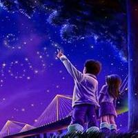 唯美星空夜空头像图片32