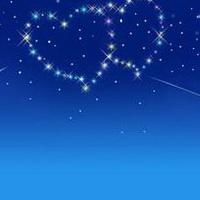 唯美星空夜空头像图片37