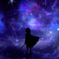 唯美星空夜空头像图片57