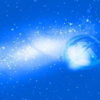 唯美星空夜空头像图片6