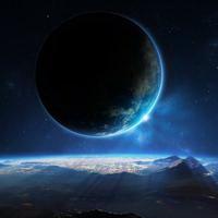唯美星空夜空头像图片7