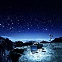 唯美星空夜空头像图片8