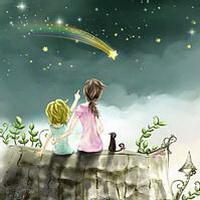 唯美星空夜空头像图片9