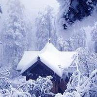 下雪唯美意境